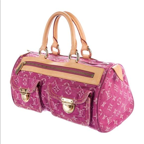 d55fe60f52fb Louis Vuitton Handbags - Louis Vuitton Denim Neo Speedy